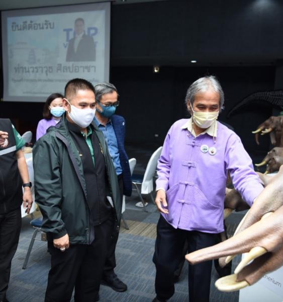 รมว.ทส. วราวุธ ศิลปอาชา ทำงานไม่หยุดปีใหม่ ลงพื้นที่ประชุมแนวทางพัฒนาโคราชจีโอพาร์ค สู่ จีโอพาร์คโลก