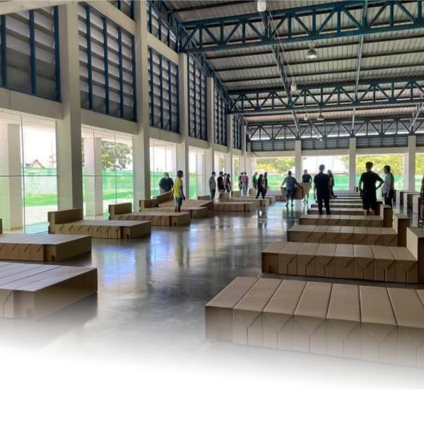 สุพรรณบุรี เปิดศูนย์พักคอย Community Isolation