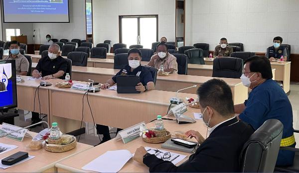 รวมทีม ส.ส.พรรคชาติไทยพัฒนา ติดตามสถานการณ์ Covid-19 ในสุพรรณบุรี
